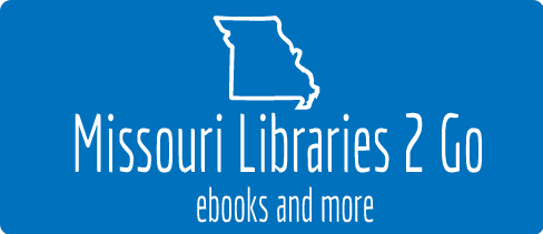Logo for OverDrive — Missouri Libraries 2 Go